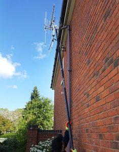 High reach Gutter Cleaning Services Warwickshire