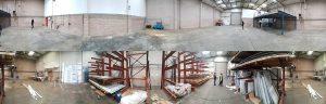 Industrial unit renovation dilapidation
