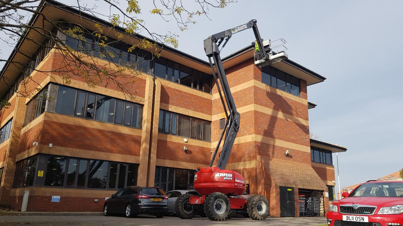 Office exterior maintenance