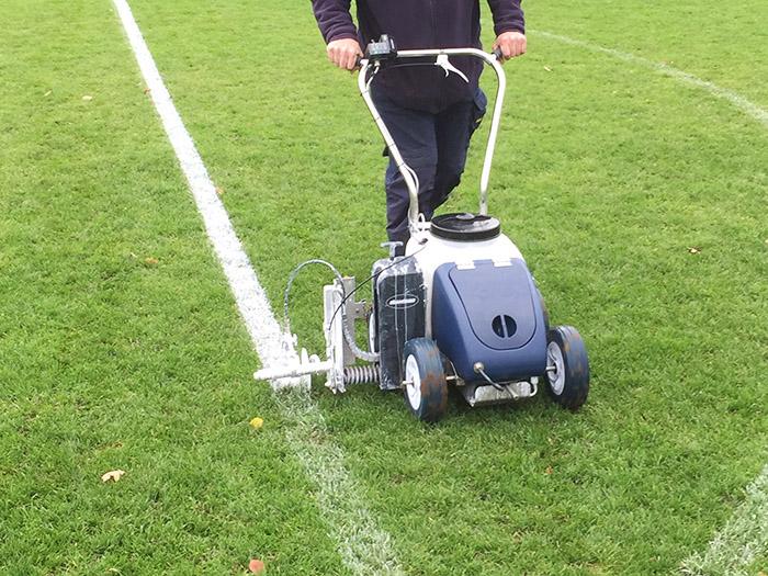Pitch marking Warwickshire