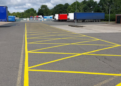 Line Marking Car parks