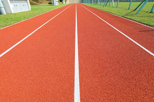 Running Track line marking