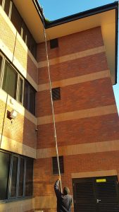 commercial property gutter cleaning