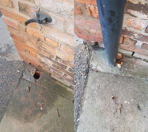 down pipe repair Tamworth