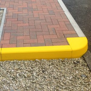 services yellow safety marking