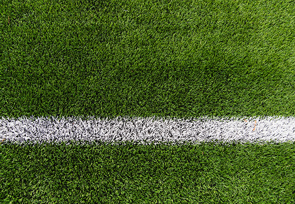 pitch and astro turf line marking